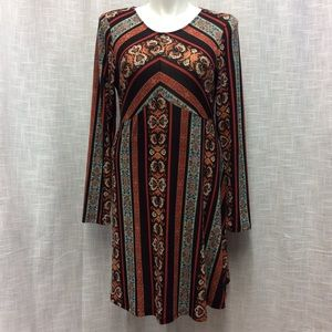 Knox Rose Multicolored Dress Size XL